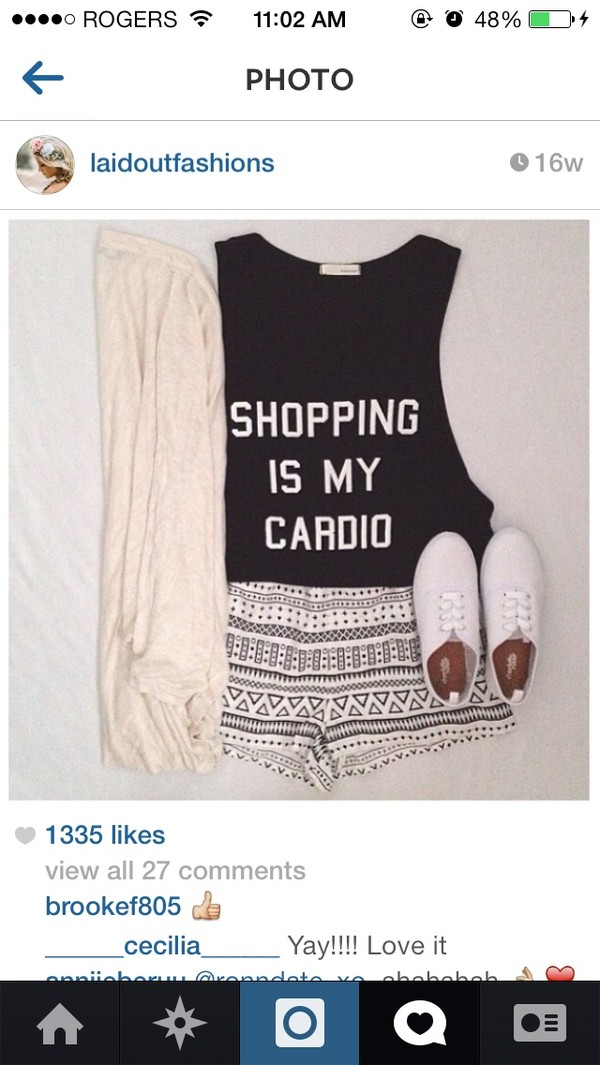 shorts tribal pattern tribal shorts cute white black t-shirt sweater