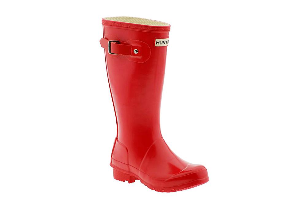 Hunter Kid S Original Young Gloss Rain Boot Orva Shoes