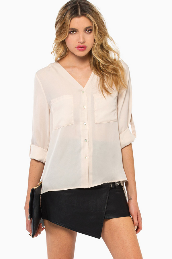 Shoreside Blouse - TOBI