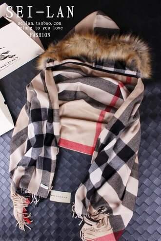 scarf burberry