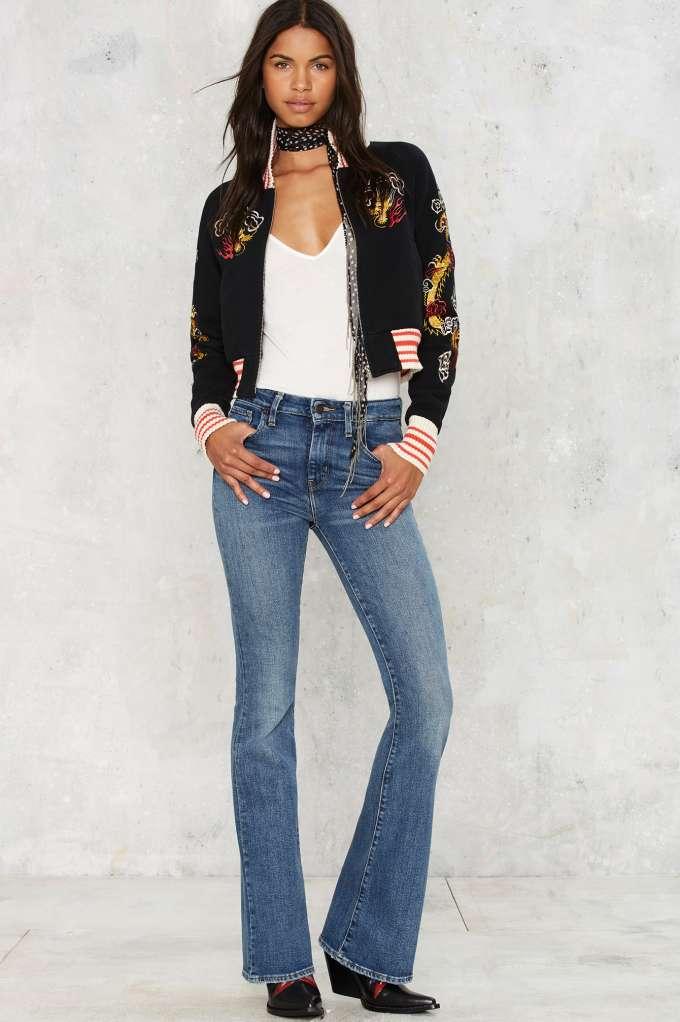 Star Gazer Flare Jeans