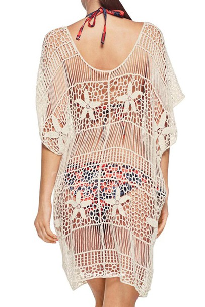 6a1d8310a dress top white white top cover up swimwear sheer cover up white cover up see  through