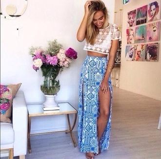 top pretty indie hipster tumblr cute boho skirt