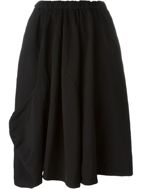 skirt women black