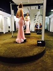 dress,prom dress,blush,detailing