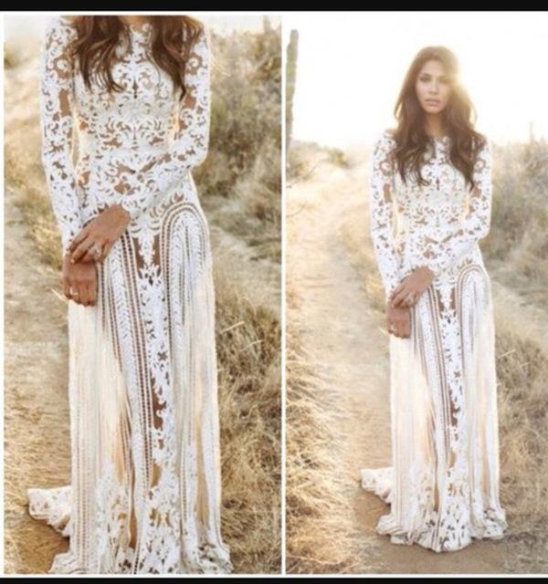 Aliexpress.com : Buy Free Shipping O neck Floor length Prom Dresses ...