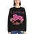 Panther Embroidered Cotton Sweatshirt