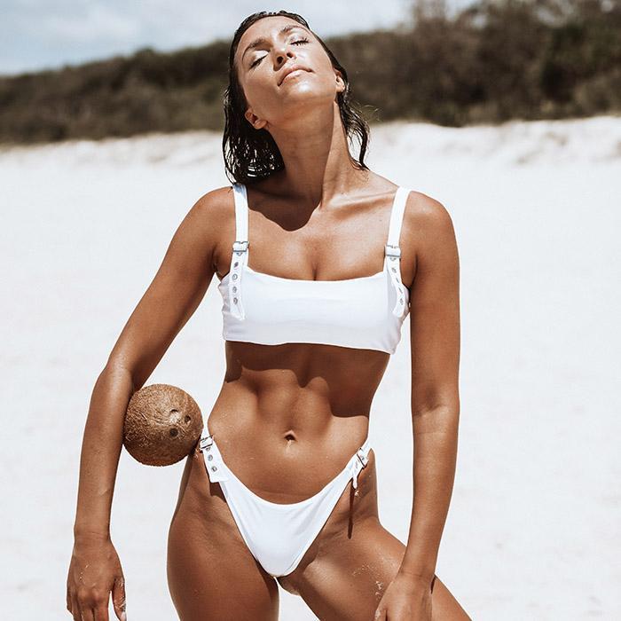 ZOE Bikini Set - Vanilla