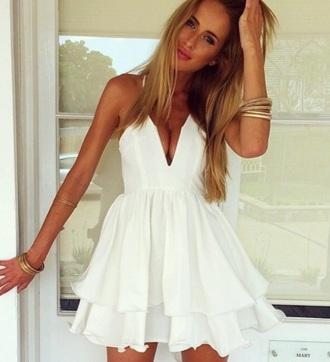 dress white dress white cute cute outfits cute dress short dress mini dress pinterest tumblr outfit tumblr outfit summer dress sexy dress instagram sexy party dresses