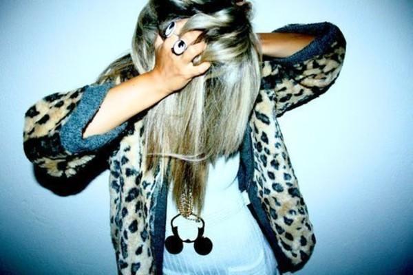 leopard print jacket leopard print faux fur