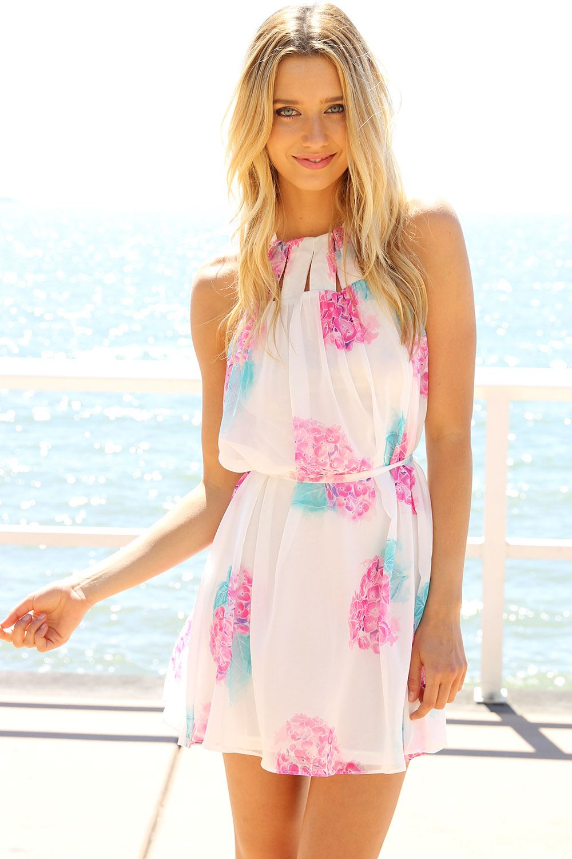 SABO SKIRT  Hydrangea Dress - (No Colour Specified) - 58.0000