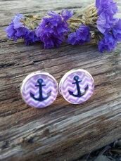 jewels,the glitzy hen,silver,silver earrings,nautical,nautical earringss,stud earrings,chevron earrings,anchor earrings,beach,boho,hippie,fashion jewelry