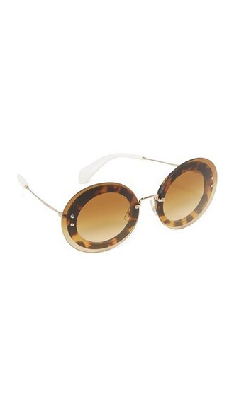 transparent light sunglasses brown