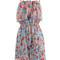 Sirenlondon — floral crush dress
