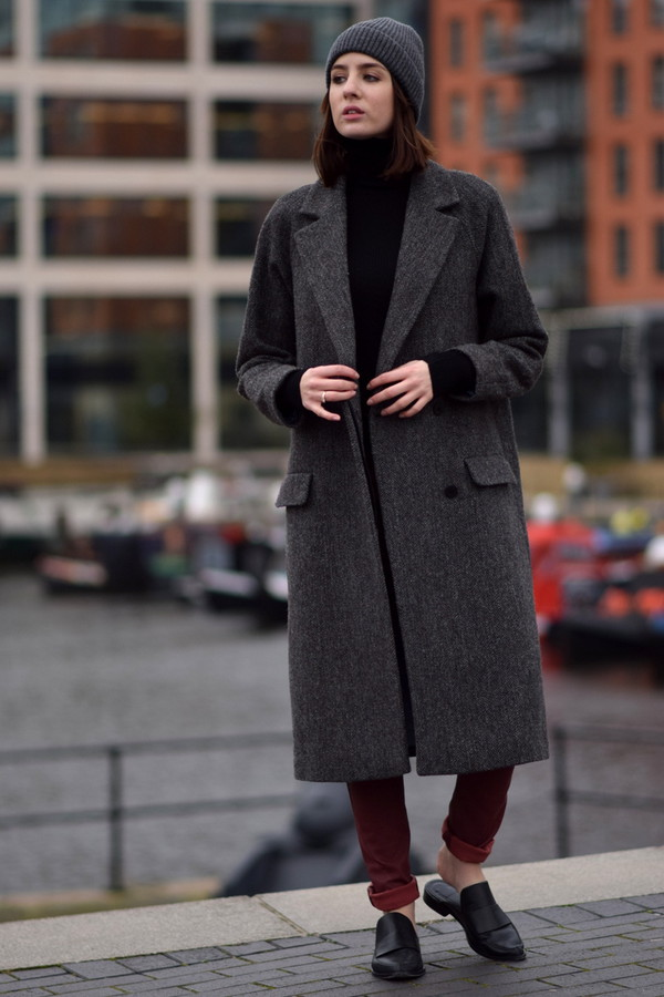 COS | Oversized tweed coat