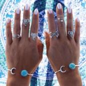 jewels,boho,nail polish,ring,knuckle ring,arrow