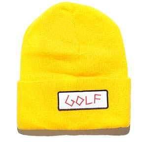 951c1e81af odd future Golf Patch Garage Beanie yellow bei KICKZ.com