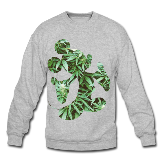 Weed Silhouette Sweater