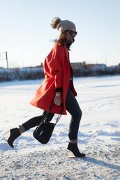 chicityfashion,sweater,coat,pants,shoes,bag,sunglasses,hat,jewels