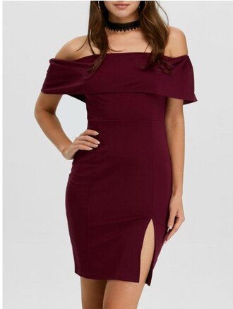 dress burgundy fashion style red dress sexy hot off the shoulder trendsgal.com off the shoulder dress bodycon bodycon dress slit dress party dress sexy party dresses sexy dress party outfits sexy outfit summer dress summer outfits spring dress spring outfits fall dress fall outfits winter dress winter outfits classy dress elegant dress cocktail dress cute dress girly dress engagement party dress date outfit birthday dress clubewar clubwear club dress graduation dress homecoming homecoming dress wedding clothes wedding guest romantic dress
