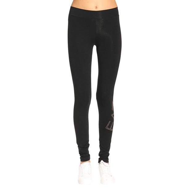 EA7 pants women black