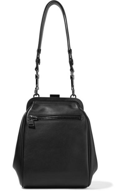 Tom Ford leather black bag