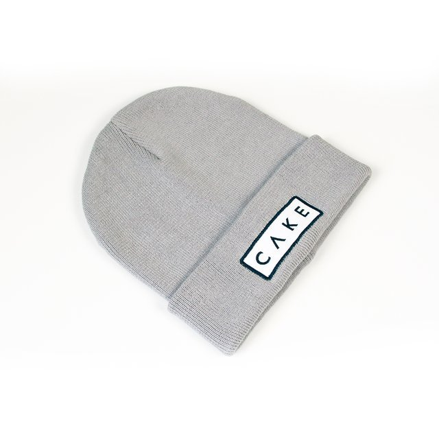 Fancy - Cake Unisex Beanie in Grey