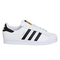 Adidas superstar 1 white black foundation - his trainers