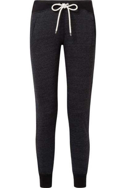Splendid pants track pants black