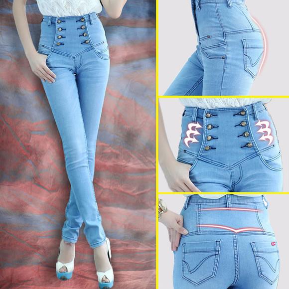 bottoms denim denim pants