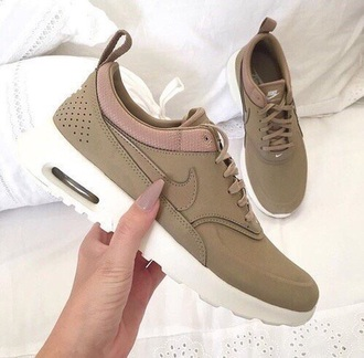 shoes olive nike sneakers low top sneakers nike green white brown navy green dark green