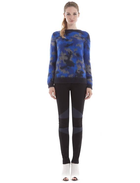 Jean Pique Black - Denim - Pantalons Sandro - E-Boutique Officielle SANDRO / Collection Printemps-Été 2013 SANDRO