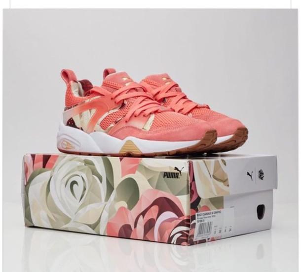 shoes pink sneakers low top sneakers