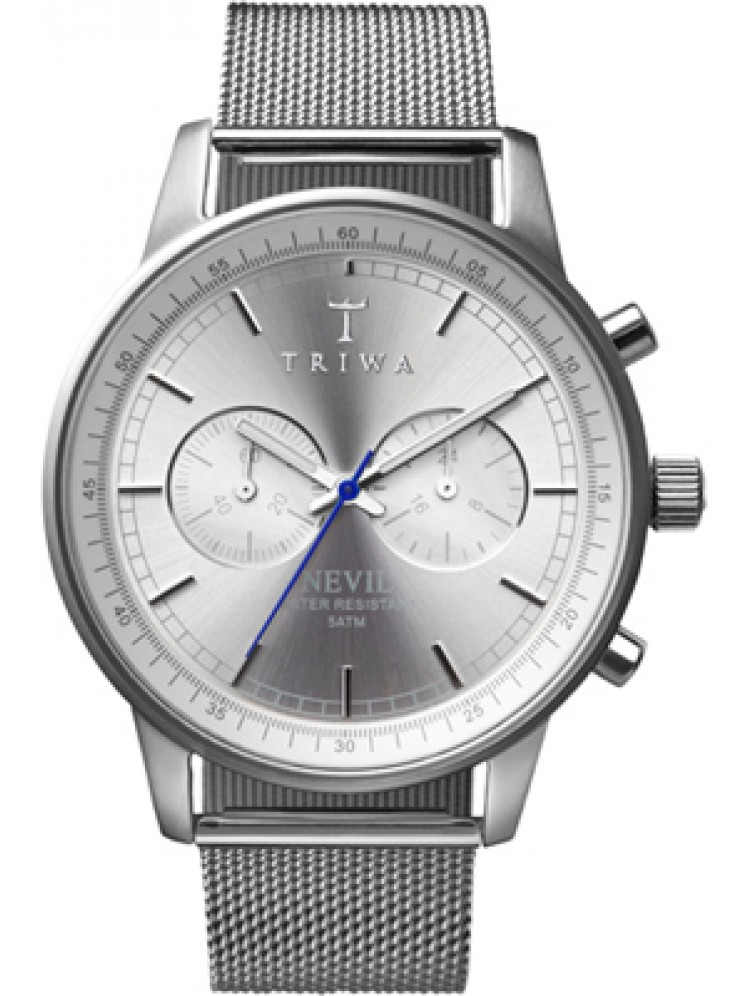 Triwa Unisex Stirling Nevil Chronograph Stainless Watch - NEST102