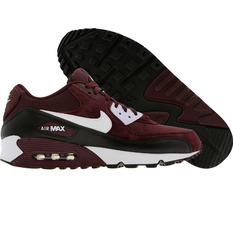 Air Max 90 Leather Burgundy