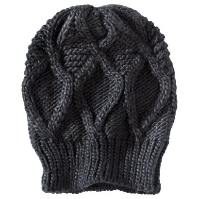 Mossimo® Textured Beanie Hat - Black : Target