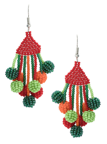Serpui women beaded earrings jewels