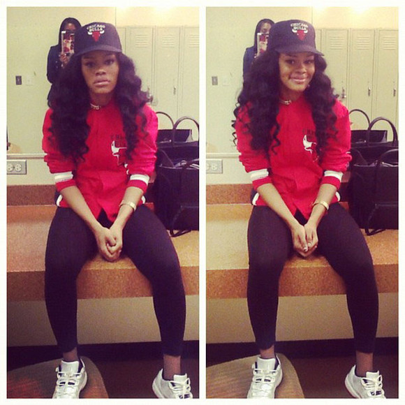 leggings clothes jacket jordans celebrity style teyana taylor