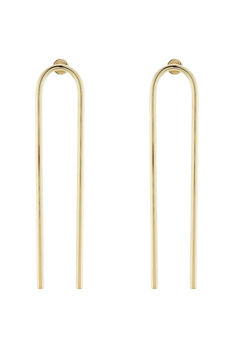 open earrings gold jewels