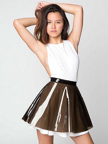 Clear PVC Circle Skirt | American Apparel