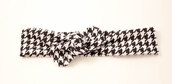 headband,bow,houndstooth,knot,baby,headwrap,knit,accessories,hair accessory