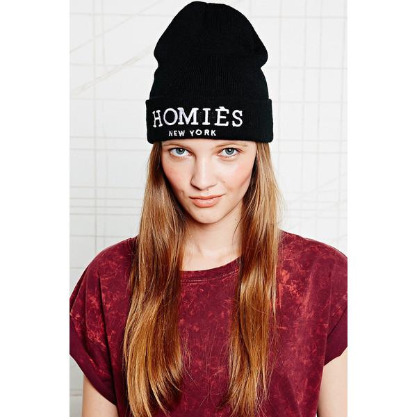 Reason Homies Beanie Hat - Polyvore