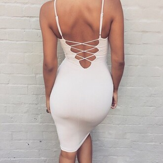 dress outfit made party dress kylie jenner bodycon dress open back open back dresses