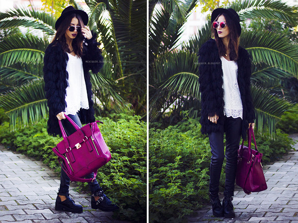 mexiquer hat jacket sunglasses bag pants shoes