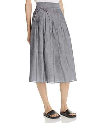 Vince Skinny Stripe Wrap Skirt | Bloomingdale's