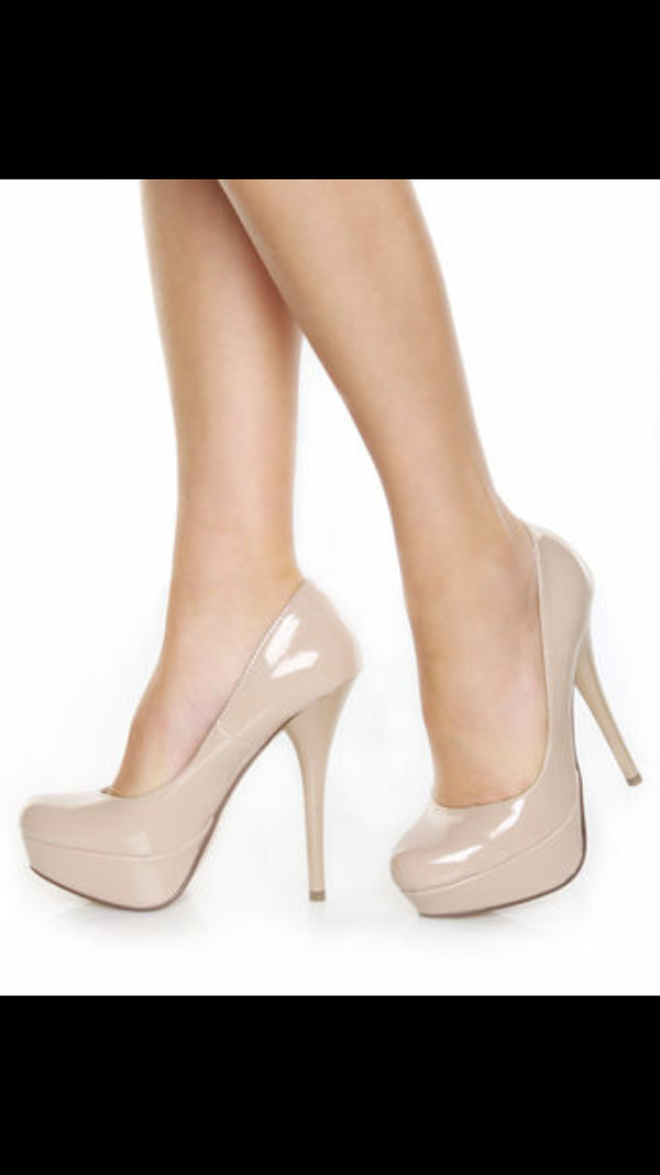 shoes pumps patent shoes platform pumps