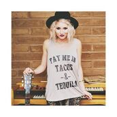 tank top,free vibrationz,royal rabbit,tacos and tequila,graphic tee,cute top,cute tank top,cute tan top,tan top,western top,country top,food top,alcohol top,tacos and tequila shirt