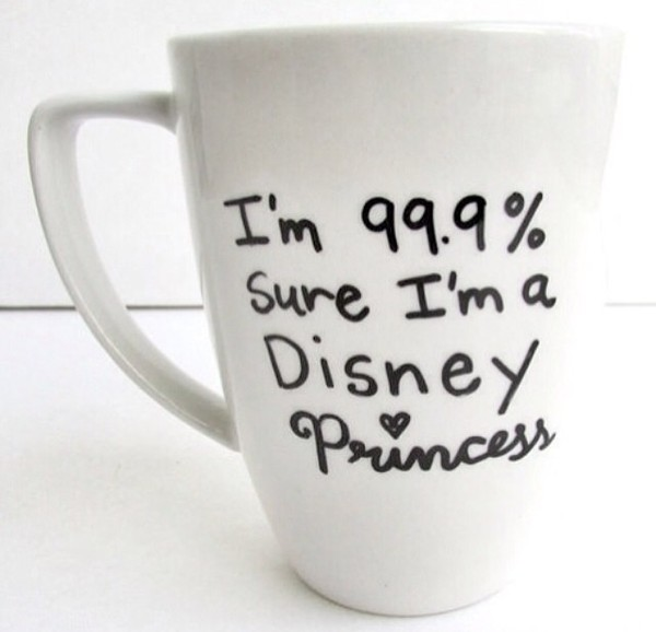 coffee cup girly wishlist valentines day gift idea jewels tank top coffee mug princess disney bag tea quote on it nail accessories belt hot home accessory disney princess disney mug disney princess mug princess mug