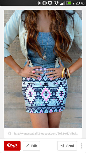 skirt tribal