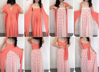 dress floral dresss peach dress